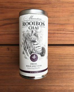 Rooibos Chai tea tin
